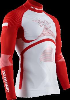 T-Shirt de Sport Maillot de Compression Femme X-BIONIC Energy Accumulator 4.0 Shirt Turtle Neck Long Sleeves Women