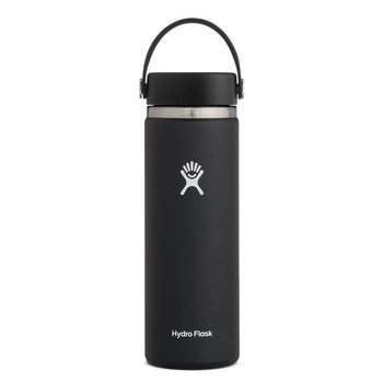HYDRO FLASK 20 OZ WILD FLEX CAP BLACK