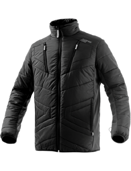 Isolationsjacke ENERGIAPURA STETTEN BLACK