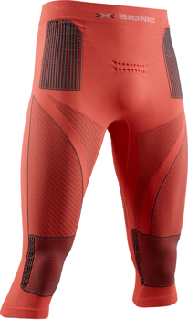 Thermounterwäsche X-BIONIC ENERGY ACCUMULATOR 4.0 PANTS 3/4 MEN SUNSET ORANGE/ANTHRACITE - 2020/21