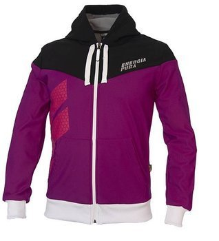 Softshell ENERGIAPURA FELPA TIP PURPLE/BLACK JUNIOR